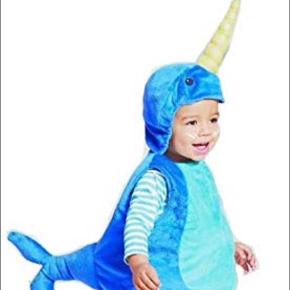 Child Narwhal Narval Costume